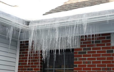 Water Damage Restoration - Ice Dams